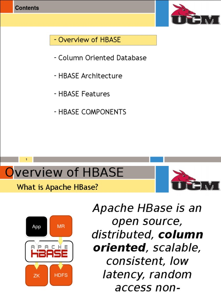 HBase Presentation | Apache Hadoop | Databases