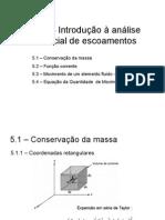 Cap-5-Análise Diferencial de Escoamentos
