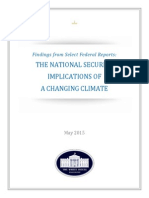 National Security Implications of Changing Climate