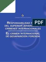 El Crimen Internacional de Desaparicion Forzada