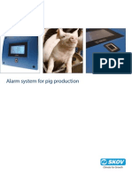 Alarm System for Pig Production