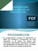 Programacion Detallada de La Produccion Diapositivas