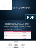 Asidosis Repiratorik