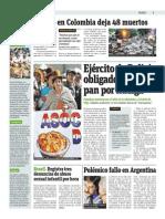 Publimetro - 19-05-2015 - Huaico en Colombia Deja 48 Muertos