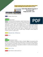 Radio Híbrido Programa 11 Temporada 2014-2015