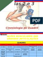 Cinesiologia e Biomecanica Aula 2