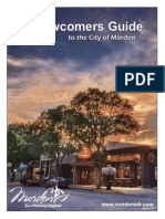 Newcomers Guide to the City of Morden