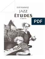 Piano - Jazz Etudes for Beginners
