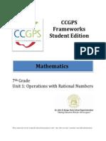 Unit 1 Frameworks - Student Edition