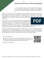 Da Responsabilidade Civil Dos Estabelecimentos de Saúde _ EGov UFSC