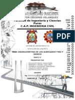 Analisis Granulometrico Del Agregado Fino