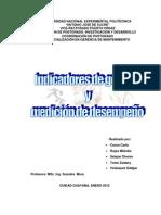 Indicadores Gestion y Medicion Del Desempeno 2012