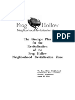 Frog Hollow NRZ Strategic Plan 2010