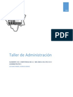 Unidad IV Mecanica del proceso administrativo