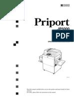 Ricoh Priport JP5000