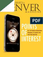 Spring 2015 University of Denver Magazine