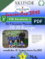 F JuniorenDie F Junioren Mannschaft Des
