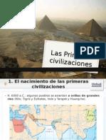1 Primeras Civilizaciones