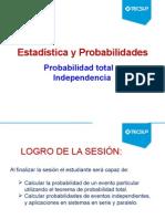 Probabilidad Total e Independencia