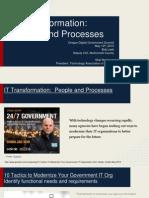 Oregon DGS 15 Presentation - IT Transformation Bob Leek and Skip New Berry