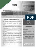 Quadrix 2014 Serpro Tecnico Suporte Administrativo Prova