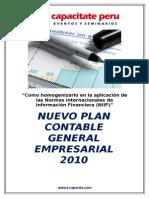 Temario Plan Contable