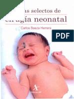 Libro Temas Selectos de Cirugía Neonatal 2011