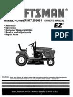 Sears Craftsmen Mower Model 917.258661