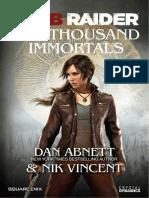 Tomb Raider the Ten Thousand Immortals
