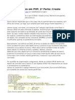 CRUD Genéricos Em PHP