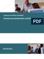 Classification and Marking