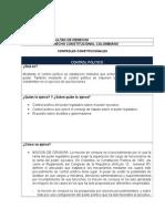Ficha Control Politico Colombiano
