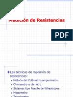 Medición de Resistencias CLASE 4
