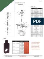 Gate Valve Parts Catalogue