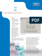 CM2295 en SKF Machine Analyst-HMI