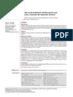 Carga Vascular y Valvular en La Estenosis Aórtica Grave Con Bajo Flujo Bajo Gradiente y Fraccion de Eyeccion Normal (1) (1)