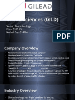 Gilead Sciences BUY PITCH