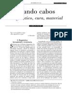 Atando Cabos- Carlos Isod (Revista La Peste)