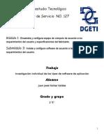 Software de Aplicacion y mapa mental de sofware de aplicacion