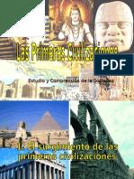 I Primeras Civilizaciones Surgimiento
