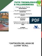 SISTEMA DE CAPTACION DE AGUA PLUVIAL