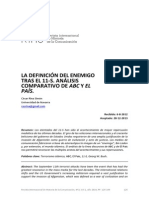 7 RiHC La Definicion Del Enemigo Tras El 11 S