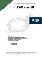 Manual de Autocad Nivel III