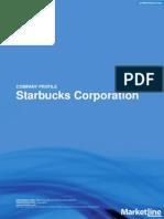 Starbucks SWOT Analysis 2013