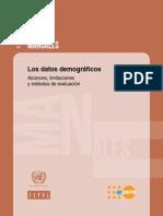 Libro Demografía