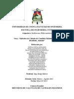 Sistemas de Distribución de Agua Método Brasileño