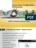 High-Performance Cluster Configurations for ANSYS Fluid Dynamics