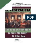 El Federalista Ensayo