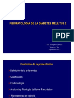 Fisiopatologia de La Diabetes Mellitus 2