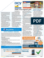 Pharmacy Daily for Thu 21 May 2015 - Norfolk Is to export pot, New clinical trials website, WA pharmacy student of the year, Travel Specials and much more